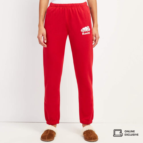 Roots-New For November Online Exclusives-Original Sweatpant-Cabin Red-A