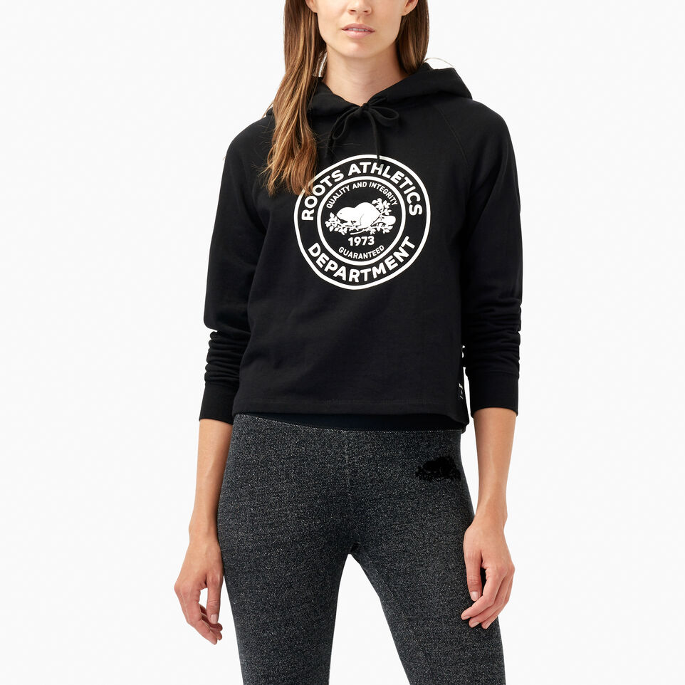 Roots-Department Cropped Hoody