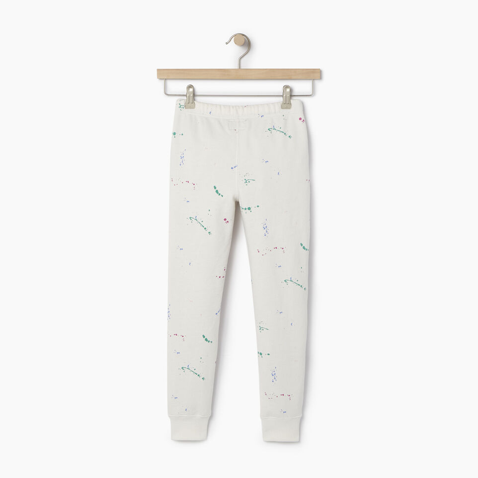 Roots-undefined-Girls Splatter Sweatpant-undefined-B