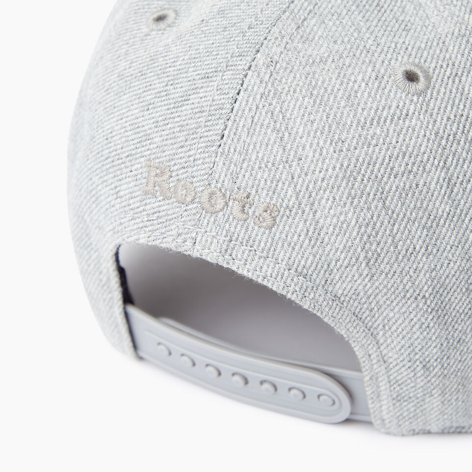 Roots-Men Our Favourite New Arrivals-Modern Leaf Baseball Cap-Grey Mix-E