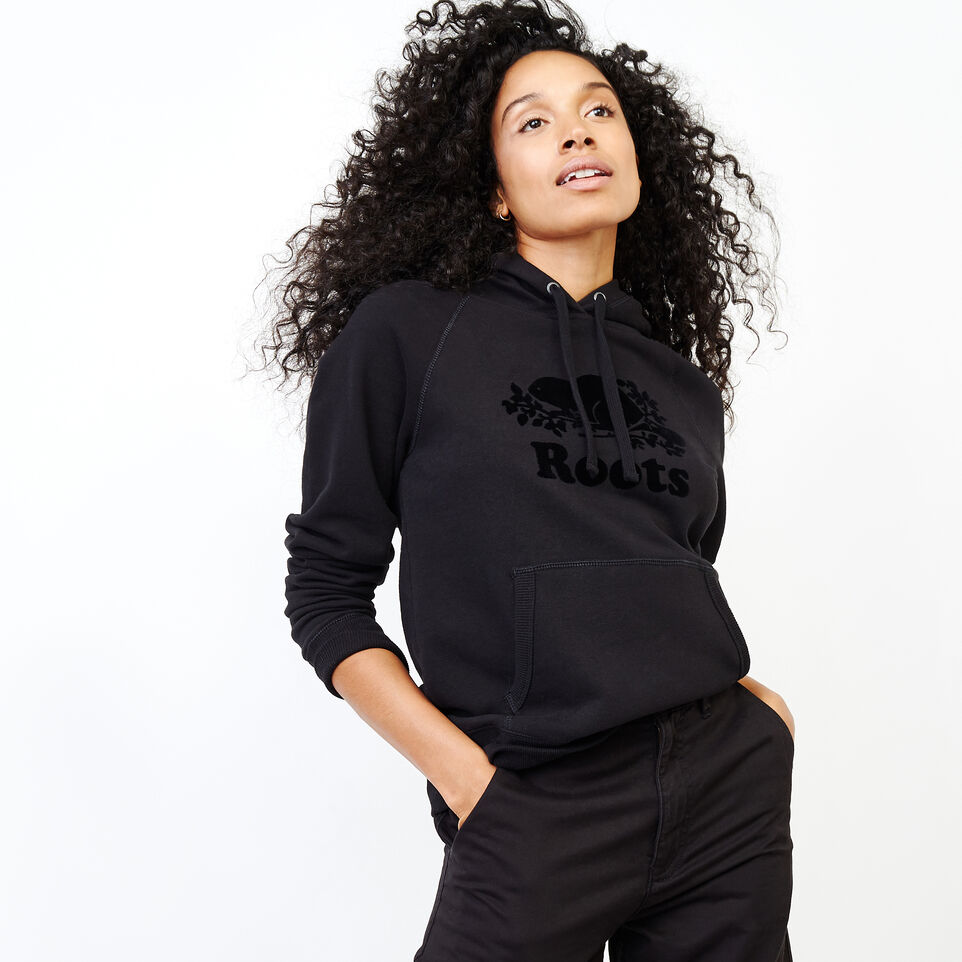 Roots-Women Our Favourite New Arrivals-Original Kanga Hoody-Black-A