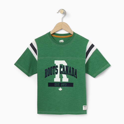 Roots-Winter Sale Kids-Boys Varsity Top-Verdant Green-A