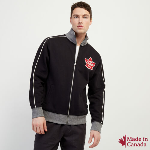 Roots-Men Our Favourite New Arrivals-Mens Canada Full Zip Mock-Black-A