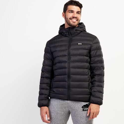 Roots-New For November Packable Jackets-Roots Packable Down Jacket-Black-A
