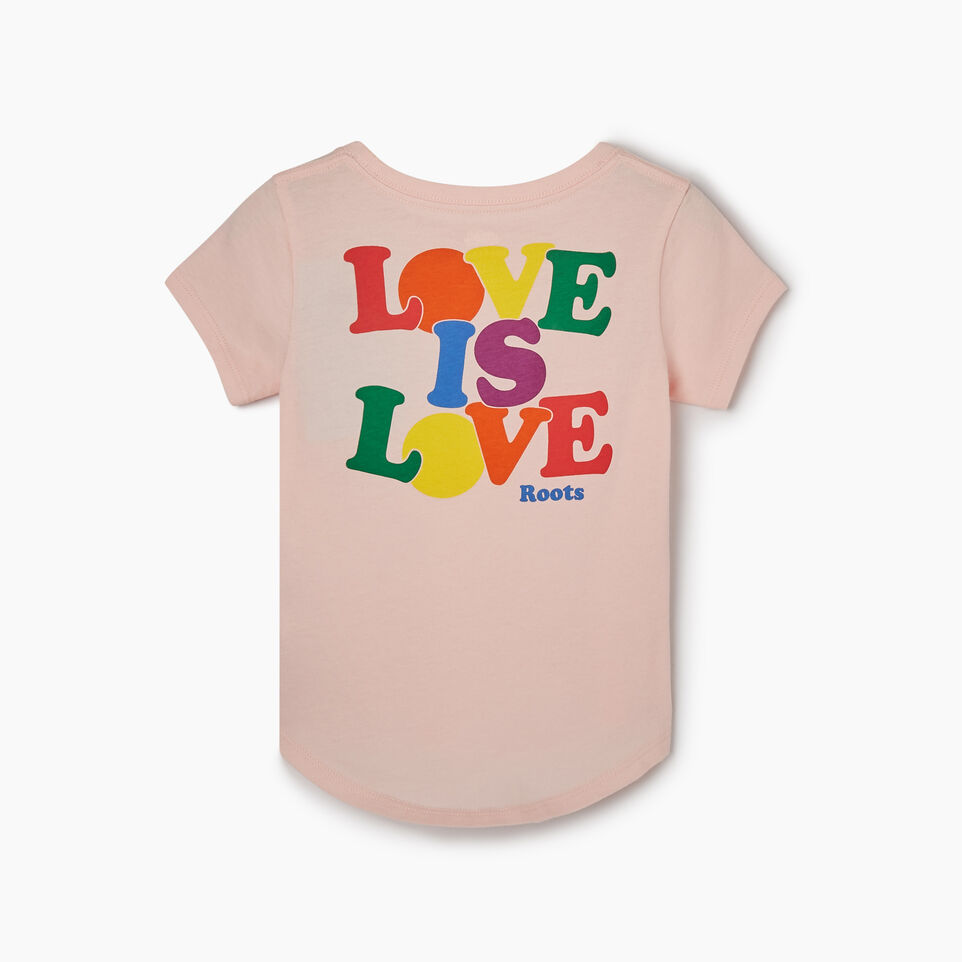 Roots-Kids Tops-Toddler Roots Pride T-shirt-English Rose-B