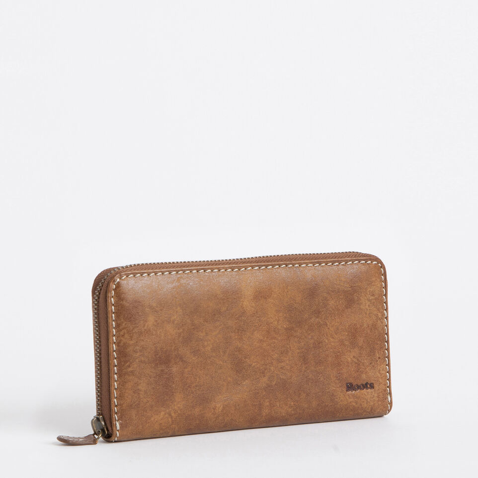 Roots-undefined-Pochette À Gliss. Cuir Tribe-undefined-C