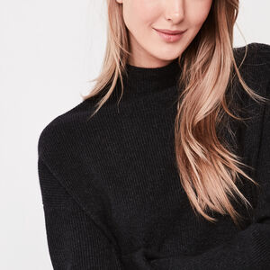 Roots-Sale Women-Nova Sweater-Black Mix-A