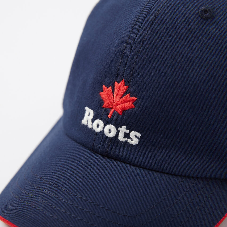 Roots-undefined-Toddler Cooper Roots Leaf Baseball Cap-undefined-D