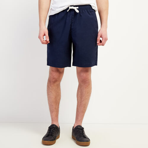 Roots-Men New Arrivals-Wasaga Pull On Short-Navy Blazer-A