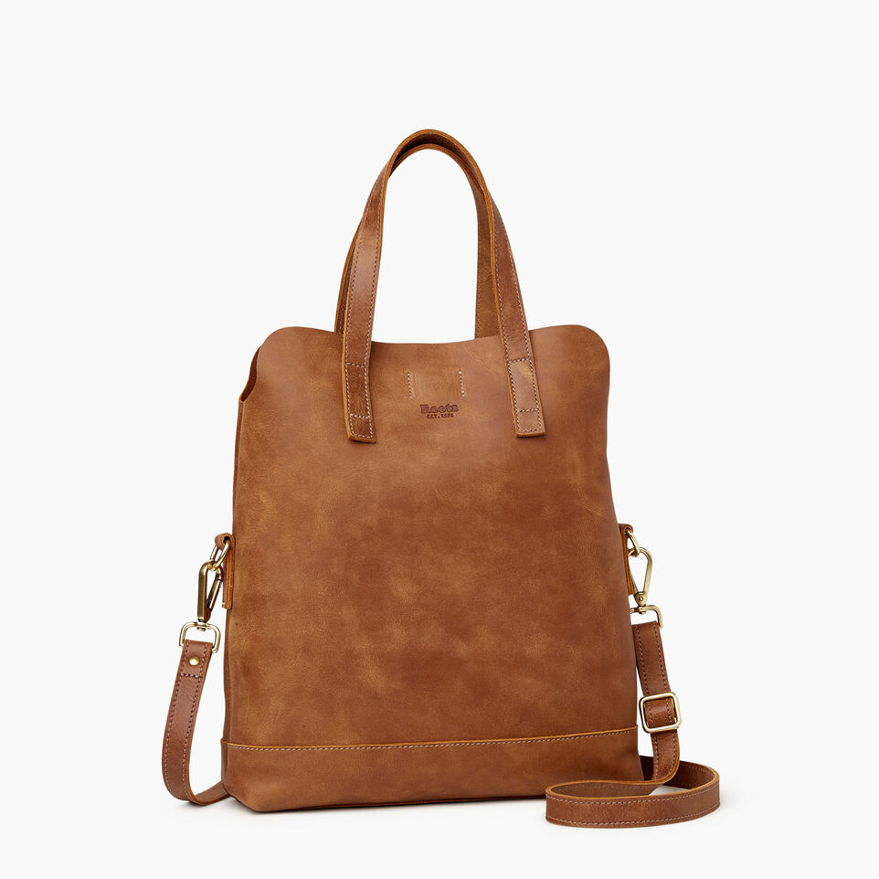 Roots-Leather  Handcrafted By Us Our Favourite New Arrivals-Junction Foldover-Natural-C