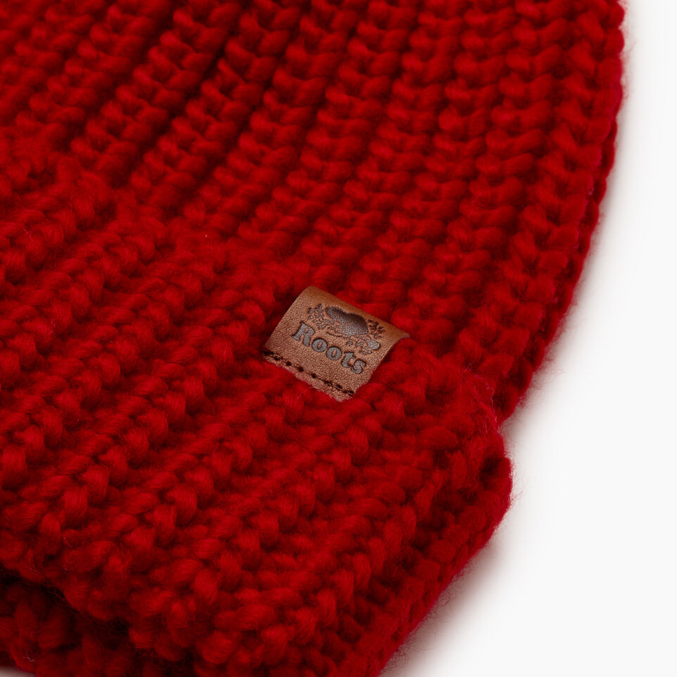 Roots-Sale Kids-Kid Girl Olivia Toque-Cabin Red-E