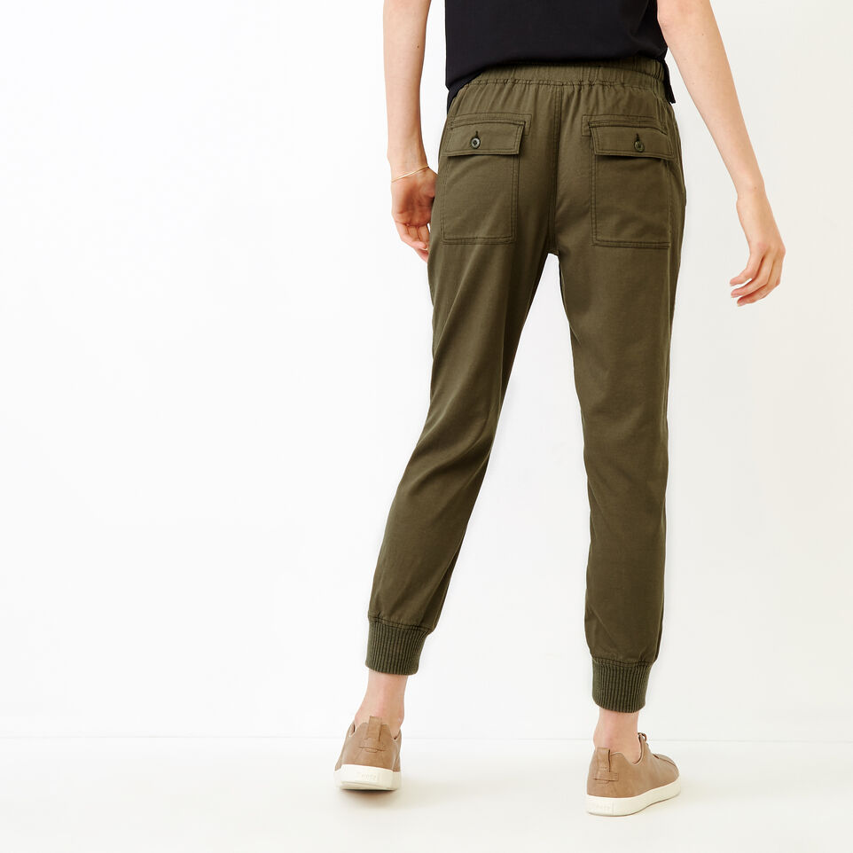 Roots-Women Our Favourite New Arrivals-Essential Jogger-Fatigue-D
