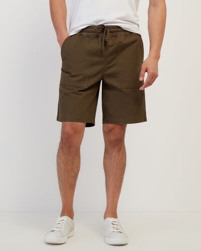 Roots-Shorts Men-Journey Short 9.5 In-Fatigue-A