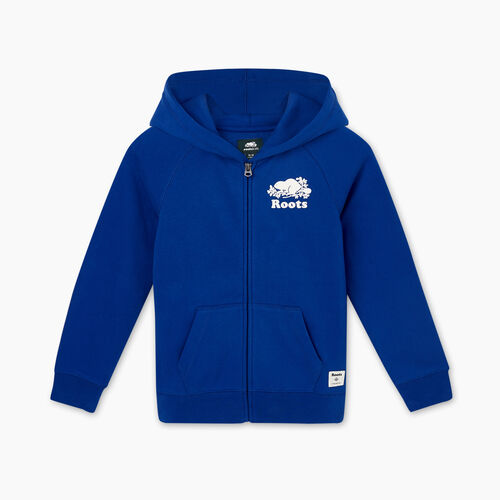 Roots-Sweats Sweatsuit Sets-Boys Original Full Zip Hoody-Mazarine Blue-A