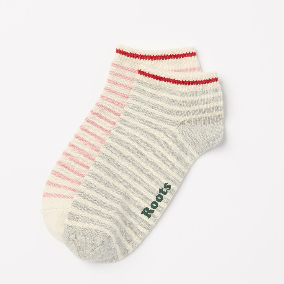 Roots-undefined-Womens Cape Breton Ped Sock 2 Pack-undefined-A
