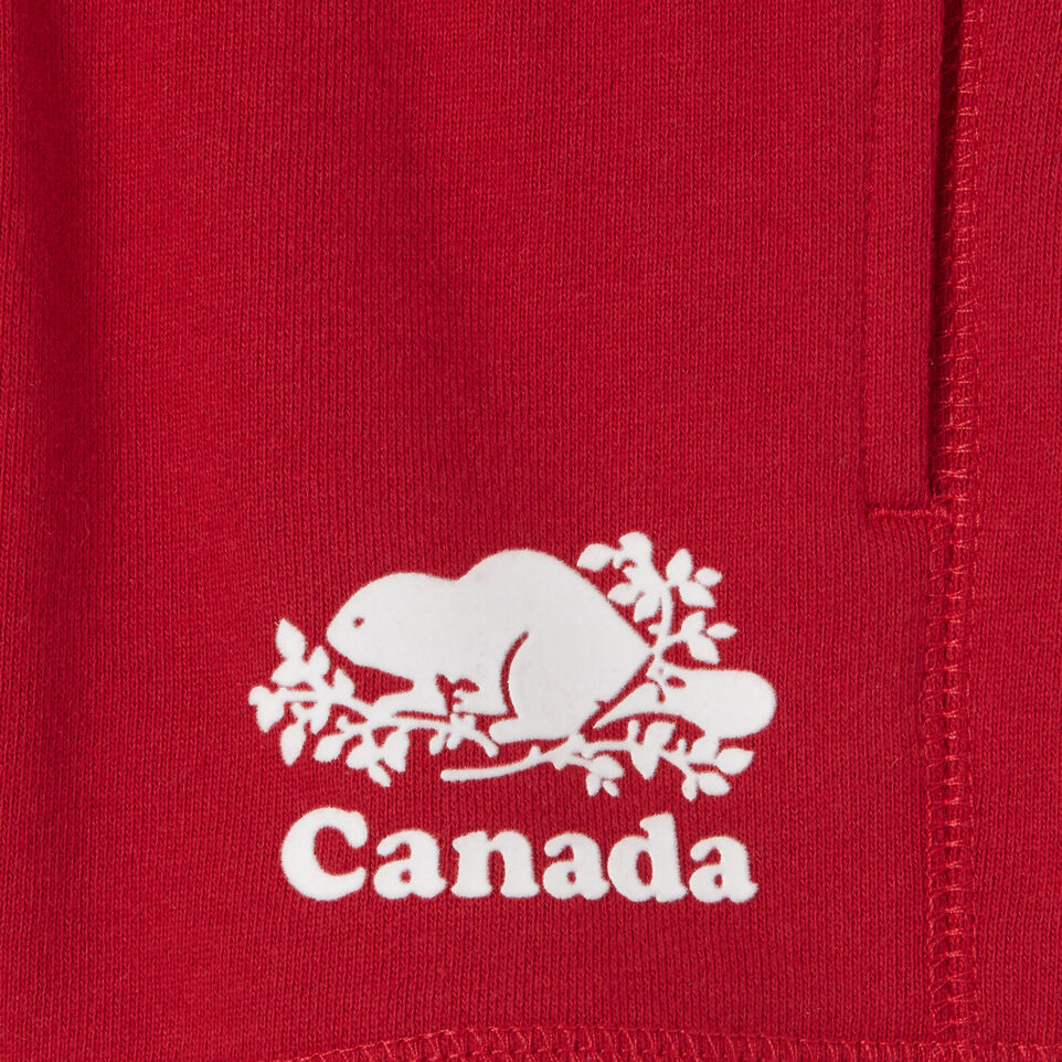 Roots-Kids Baby Girl-Baby Canada Short-Sage Red-C