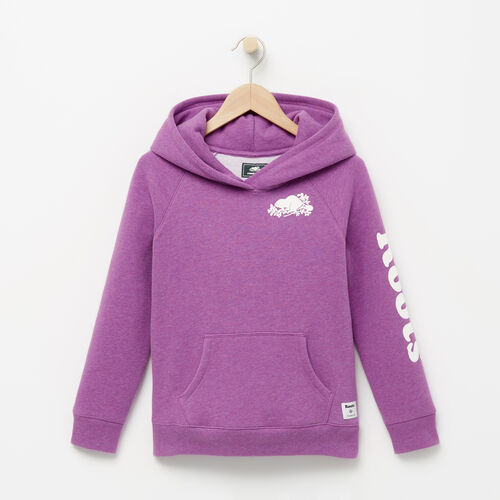 Roots-Kids Bestsellers-Girls Roots Remix Hoody-Wood Violet Mix-A
