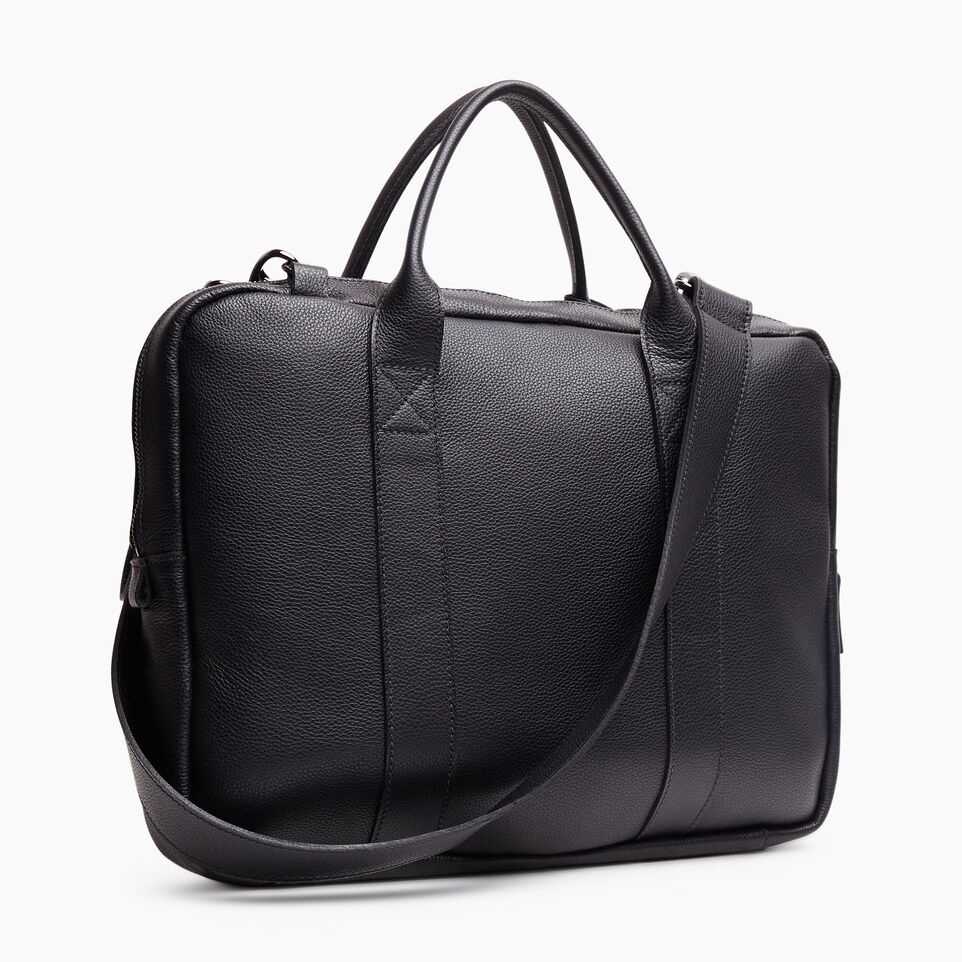 Roots-Leather New Arrivals-Wellington Laptop Bag Cervino-Black-C