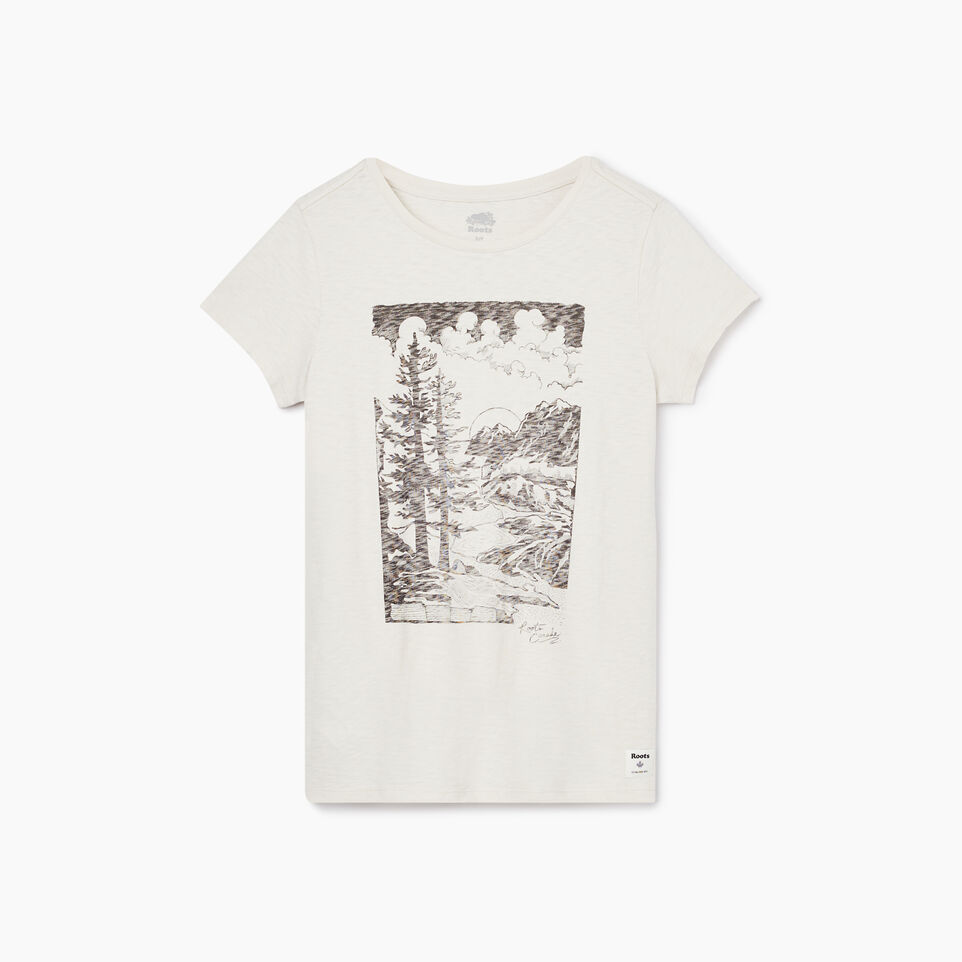 Roots-undefined-Womens Huxley Boyfriend T-shirt-undefined-A