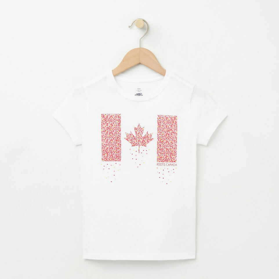 Roots-undefined-Girls Confetti Canada T-shirt-undefined-A