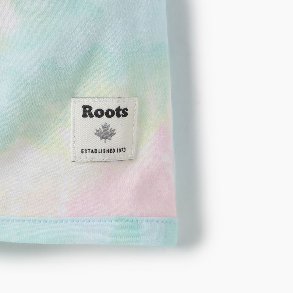 Roots-Kids Toddler Girls-Toddler Tie T-shirt-Multi-D