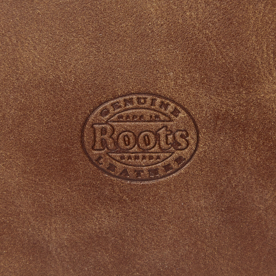 Roots-Leather  Handcrafted By Us Collections-Carrier Pouch-Natural-E