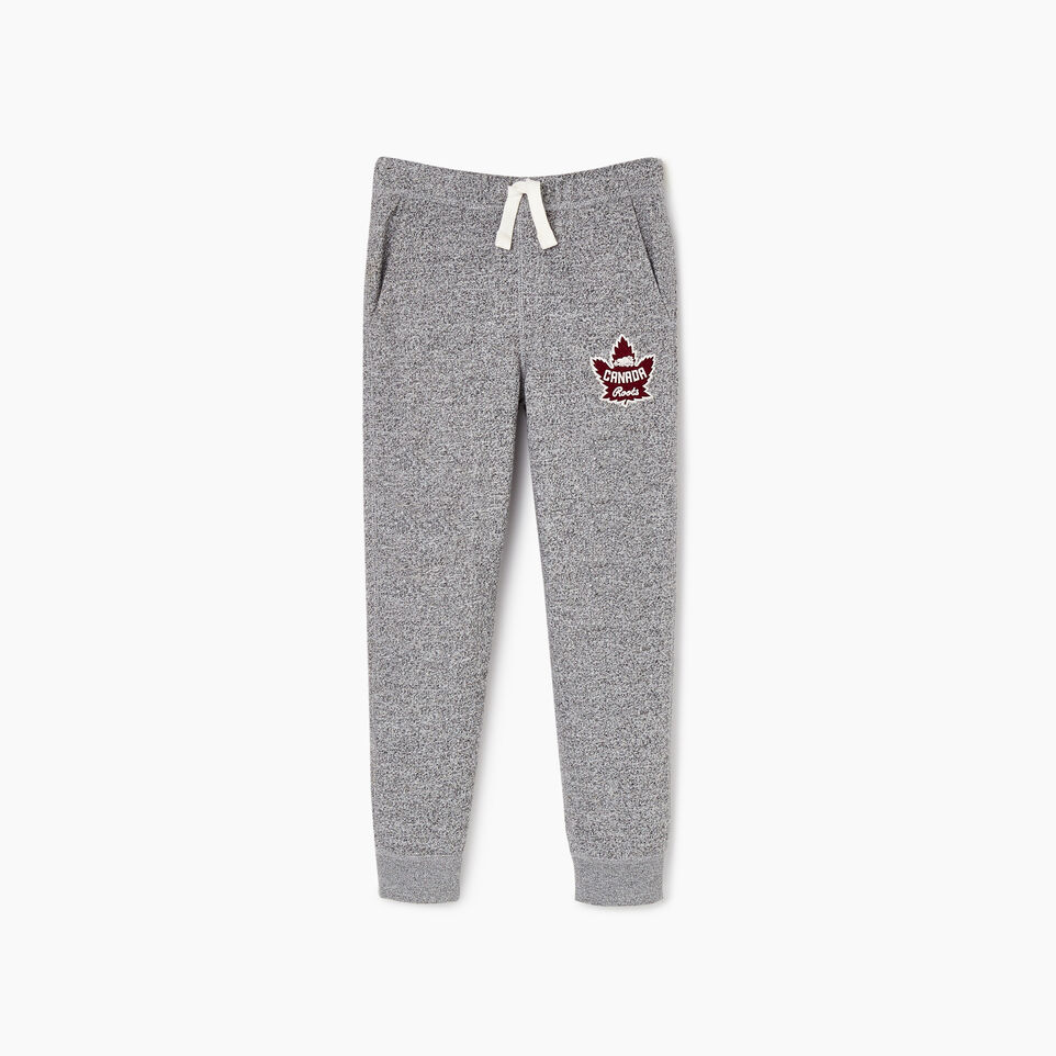Roots-Kids Boys-Boys Canada Park Slim Sweatpant-Salt & Pepper-A