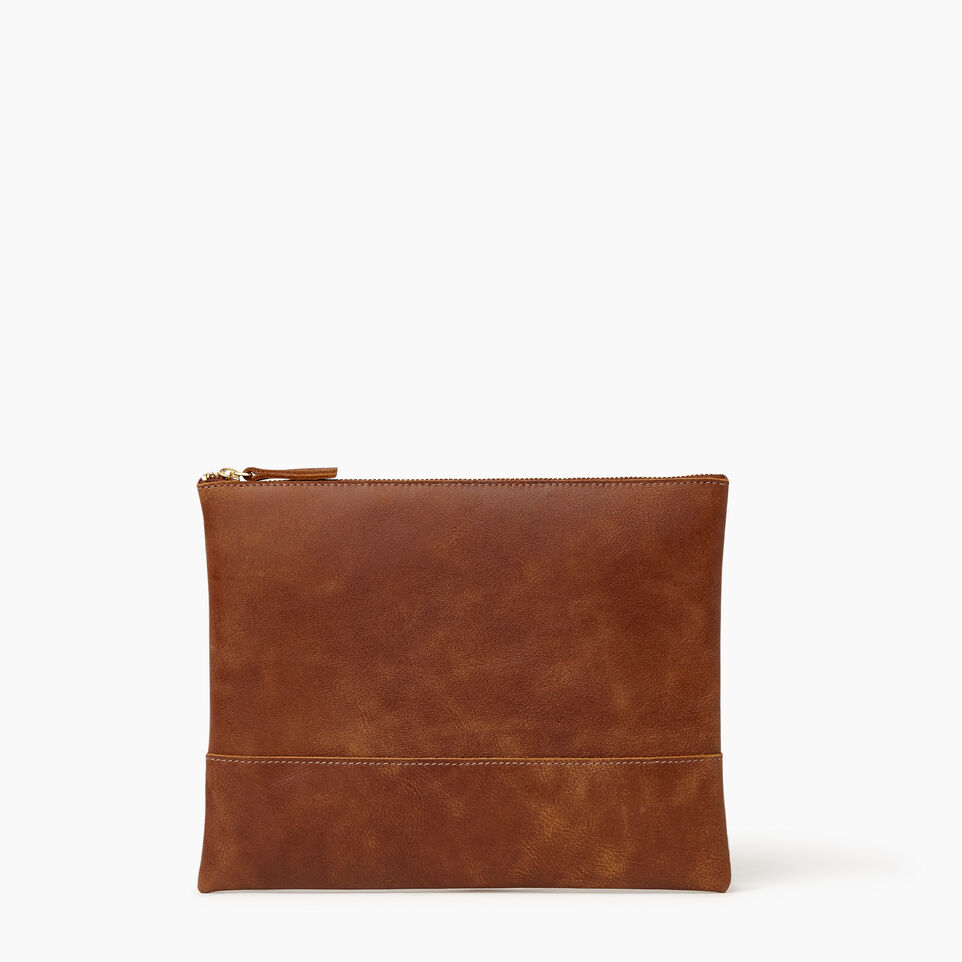 Roots-Leather Our Favourite New Arrivals-Junction Pouch-Natural-A