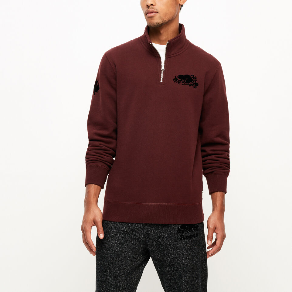 Roots-Remix Zip Stein Sweatshirt