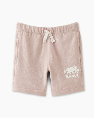 Roots-Sweats Girls-Girls Original Roots Short-Pale Mauve Pepper-A