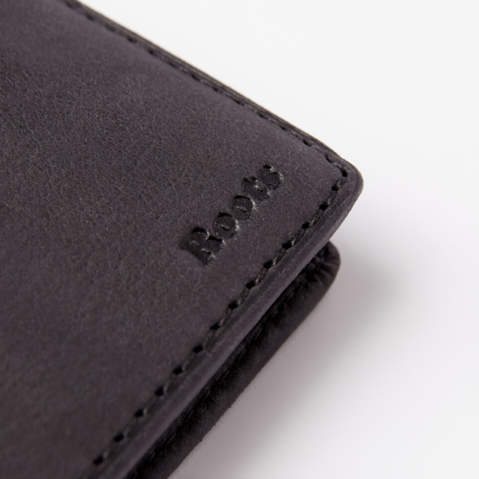 Roots-undefined-Mens Slimfold Wallet With Side Flap Tribe-undefined-D