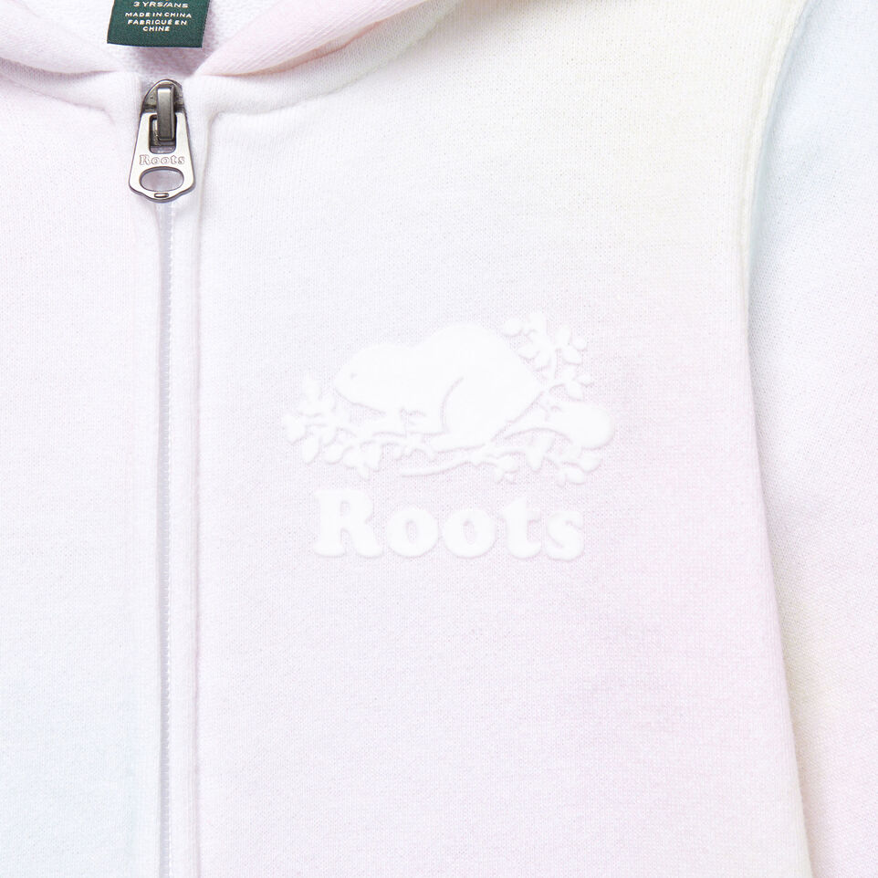 Roots-Kids Our Favourite New Arrivals-Toddler Watercolour Full Zip Hoody-Ivory-D
