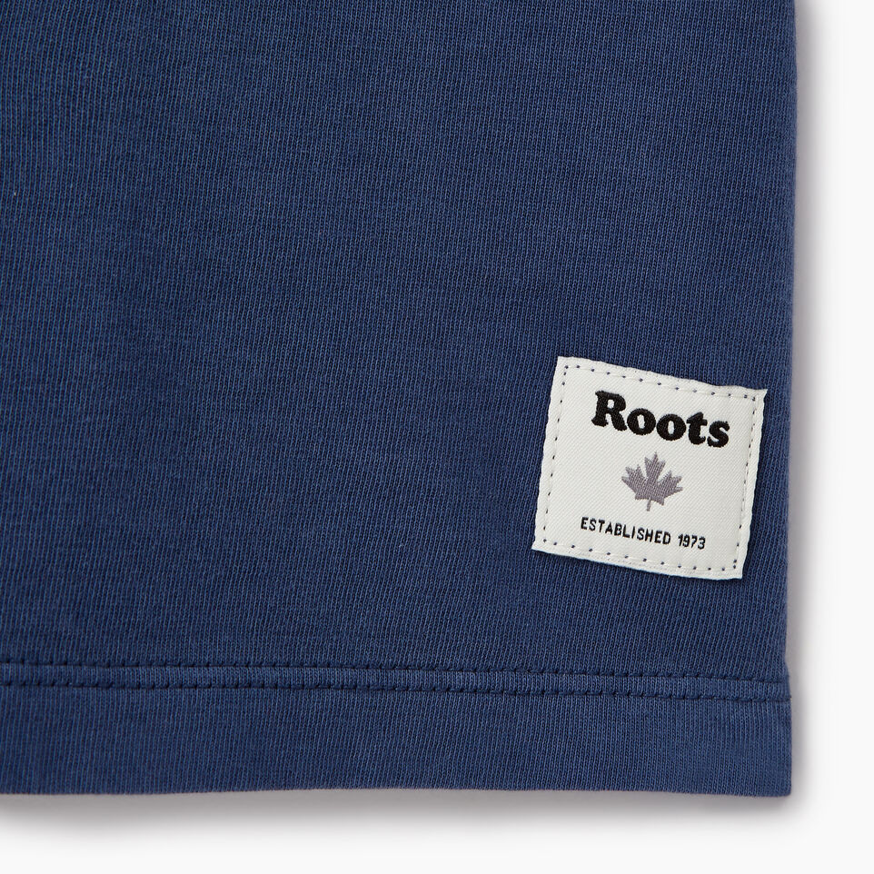 Roots-New For August Women-Womens Sunkissed T-shirt-Sargasso Sea-C