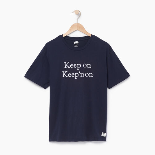 Roots-Clearance Men-Mens Quotes T-shirt-Navy Blazer-A