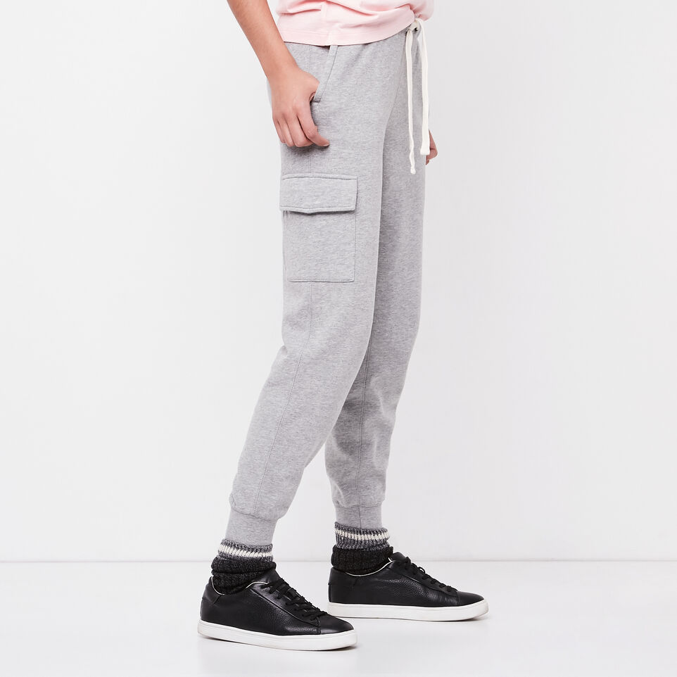 Roots-undefined-Slim Cargo Sweatpant-undefined-B