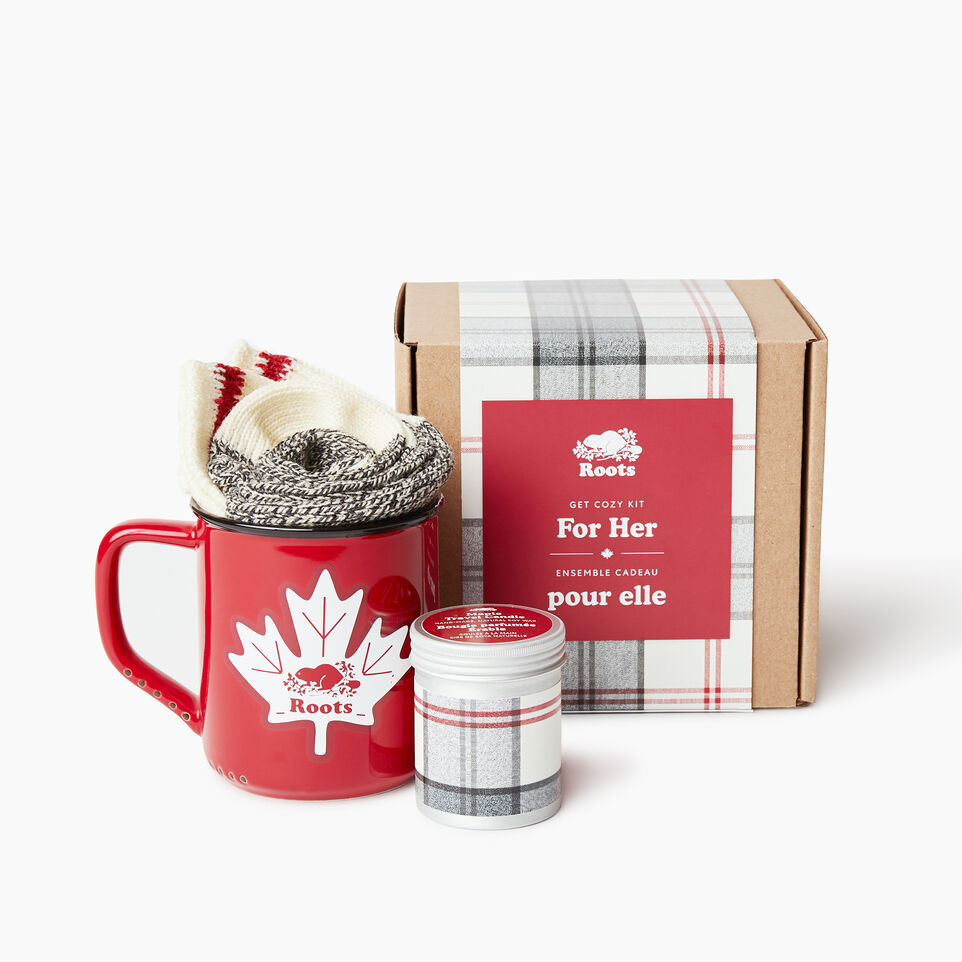 Roots-Women General Store-Get Cozy Kit For Her-Multi-A