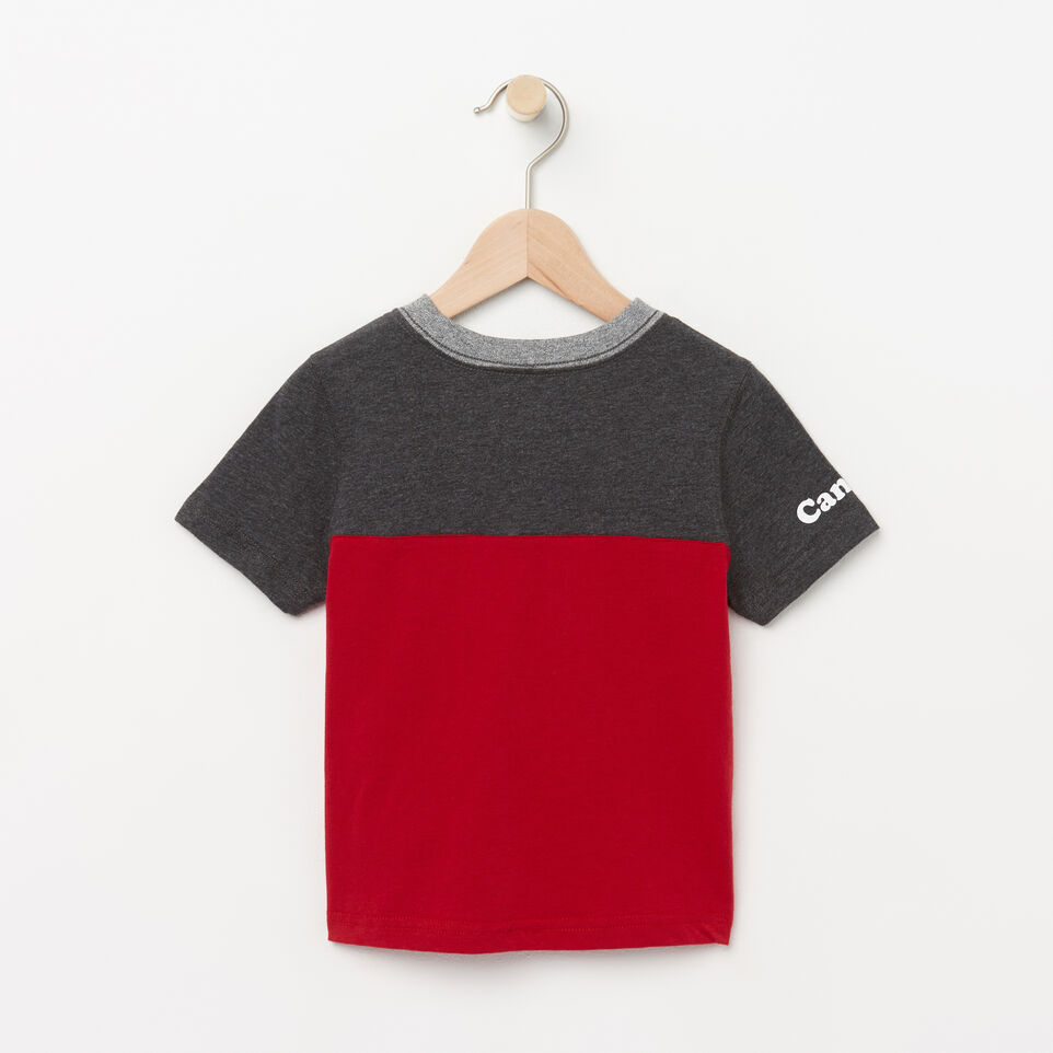 Roots-undefined-Toddler Canada Colourblock T-Shirt-undefined-B