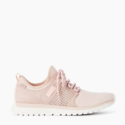 Roots-Clearance Last Chance-Womens Rideau Low Sneaker-Pink Cloud-A