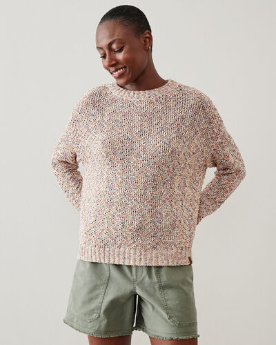 Roots-Women Clothing-Nahanni Pullover Sweater-Multi-A