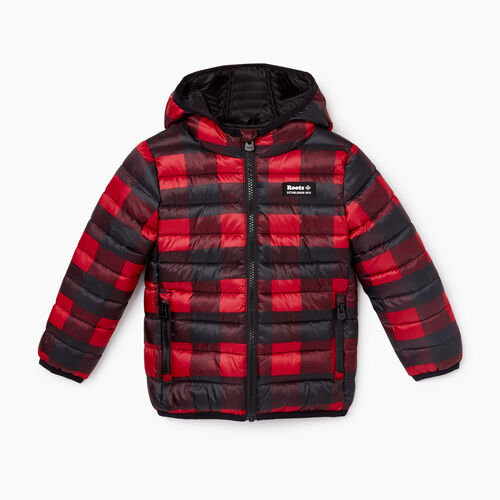 Roots-New For October Kids-Toddler Roots Puffer Jacket-Cabin Red-A