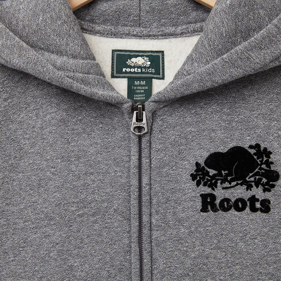 Roots-undefined-Boys Sleeveless Full Zip Hoody-undefined-C