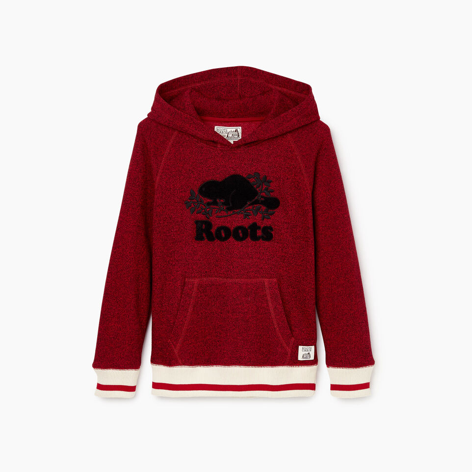 Roots-Kids Boys-Boys Roots Cabin Kanga Hoody-Cabin Red Pepper-B