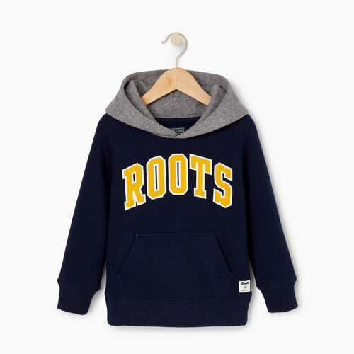 Roots-Kids Our Favourite New Arrivals-Toddler 2.0 Colourblock Raglan Hoody-Navy Blazer-A