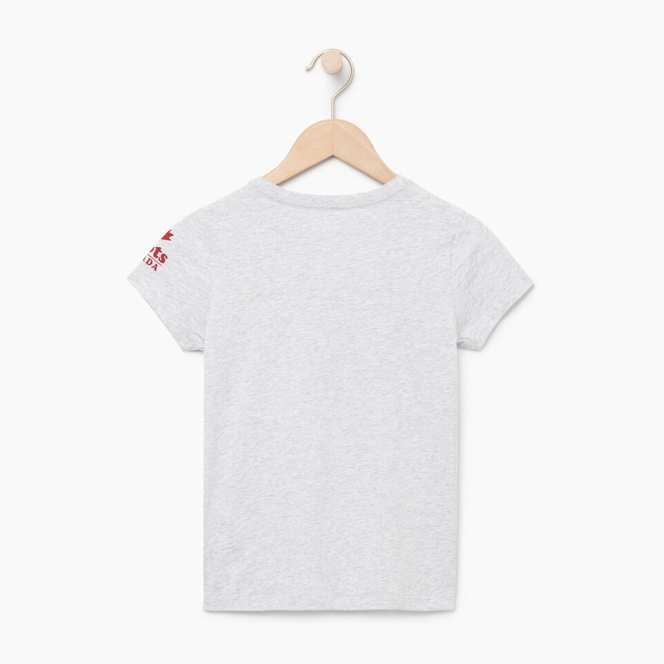 Roots-Kids Our Favourite New Arrivals-Girls Canada T-shirt-Snowy Ice Mix-B