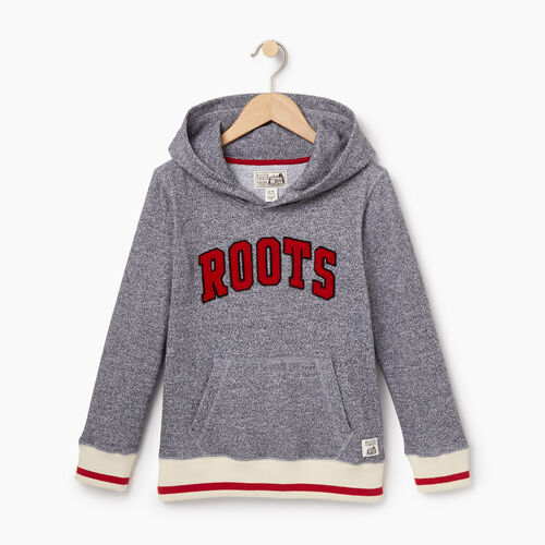 Roots-Kids Categories-Boys Roots Cabin Kanga Hoody-Salt & Pepper-A