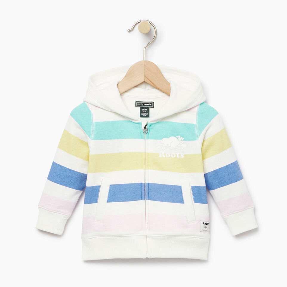 Roots-undefined-Baby Ombre Stripe Full Zip Hoody-undefined-A