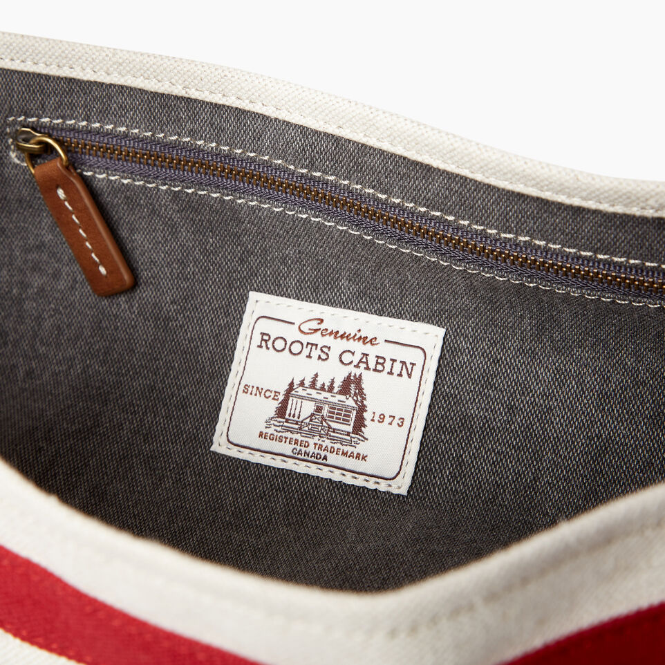 Roots-Women General Store-Cabin Tote-Grey Oat Mix-E
