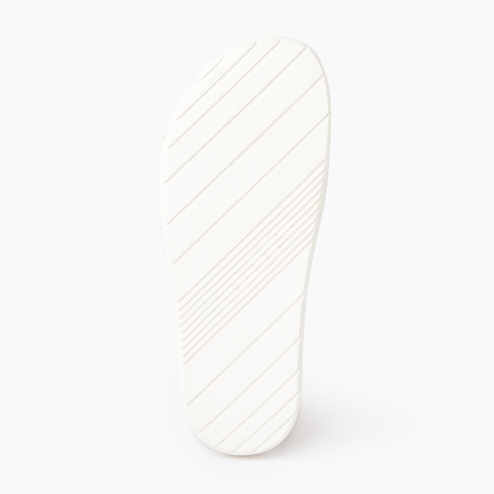 Roots-Footwear Our Favourite New Arrivals-Womens Long Beach Pool Slide-Pearl-C