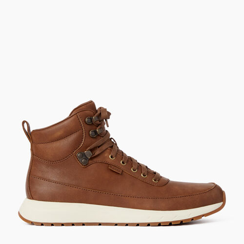 Roots-Footwear Shoes And Sneakers-Womens Rideau Mid Sneaker-Natural-A