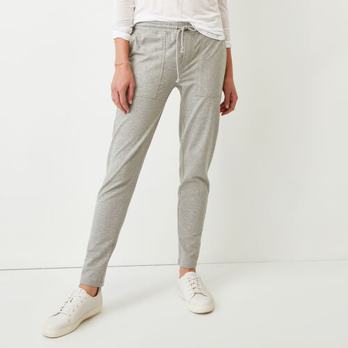Roots-Women Bottoms-Kelby Jogger-Grey Mix-A